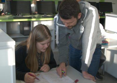 GMS-Lernatelier Schüler Lehrer