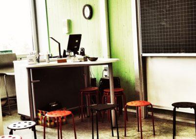 Sitzkreis Lerngruppenraum
