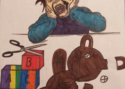 Warum weint das Kind?
