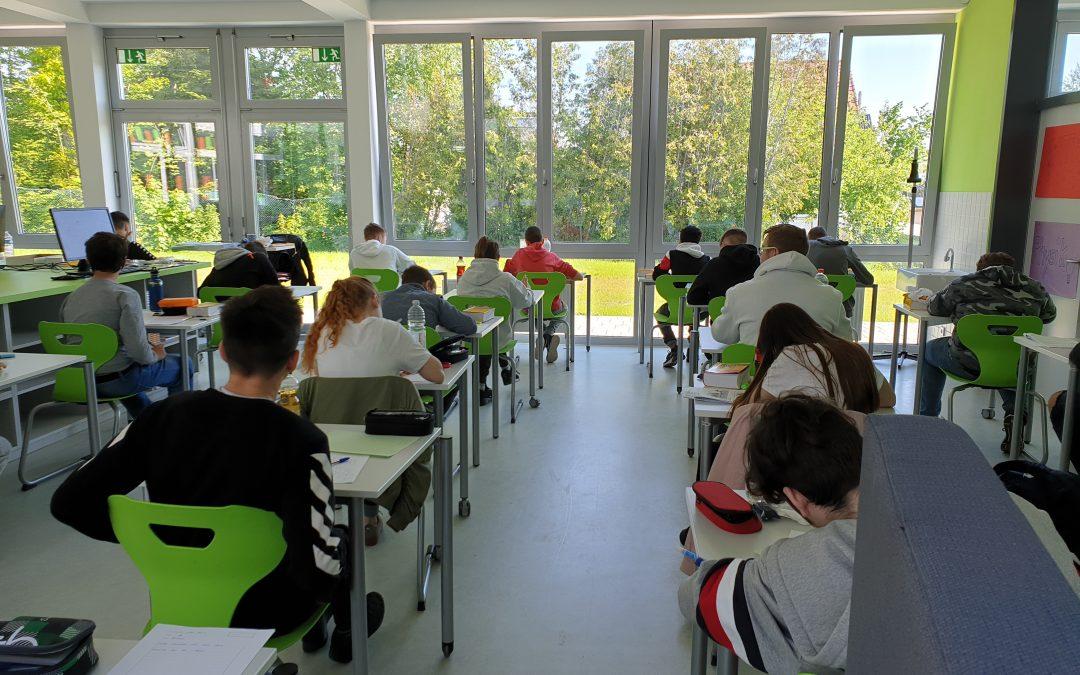 Schriftliche Abschlussprüfungen an der GMS