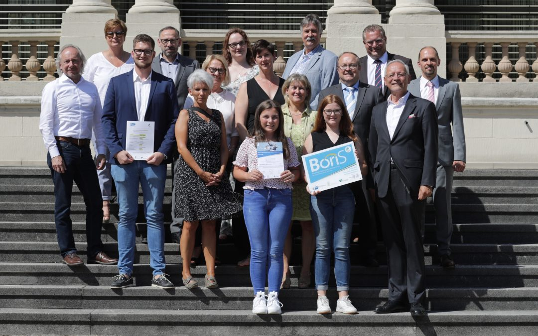 GMS erhält erneut BoriS Berufswahl Siegel