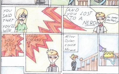 Comic challenge year 8
